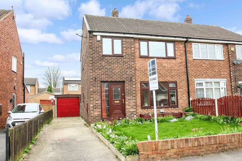 3 Bedrooms Semi Detached House for sale in Brookfield Drive, Ackworth