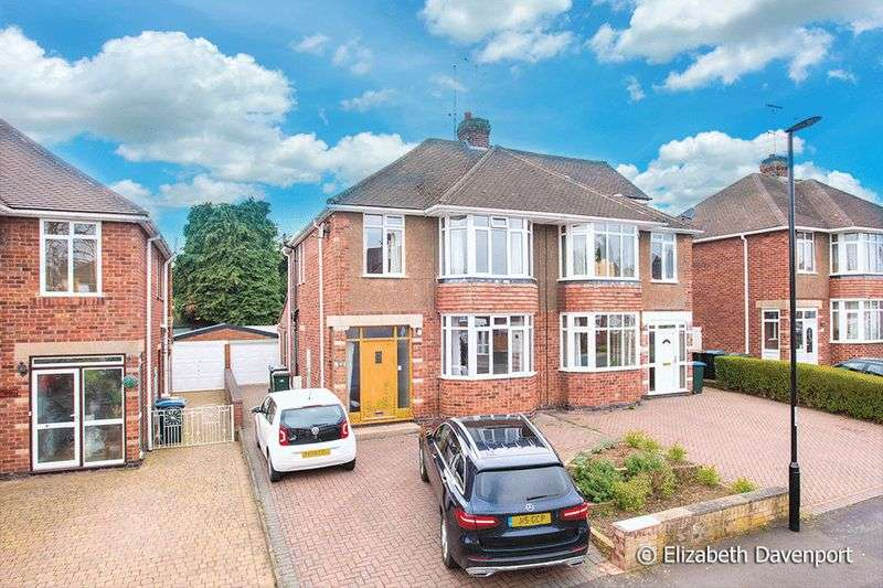 4 Bedrooms Semi Detached House for sale in Frankton Avenue, Stivichall, Coventry