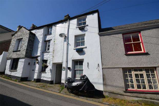 2 Bedrooms Terraced House for sale in West Looe Hill, West Looe, Cornwall