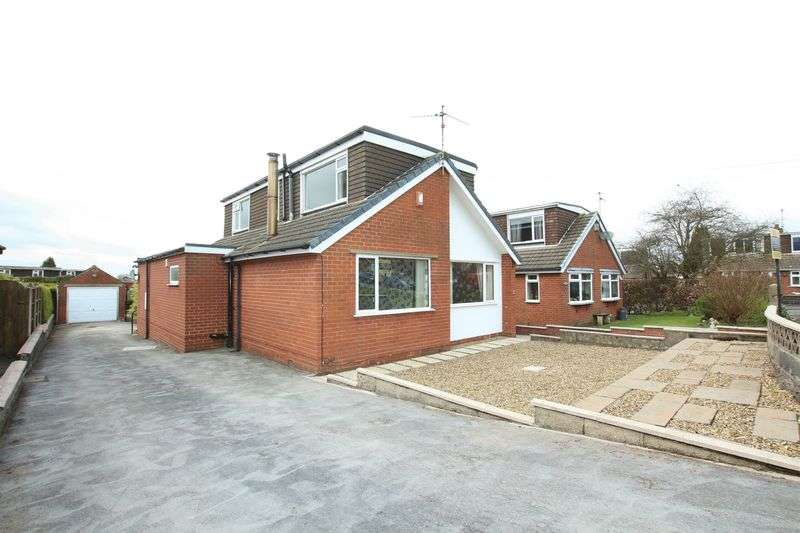 3 Bedrooms Detached Bungalow for sale in Stoneyfields, Biddulph Moor