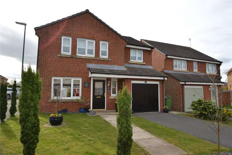 4 Bedrooms Detached House for sale in Kestrel Way, Haswell, Co. Durham, DH6