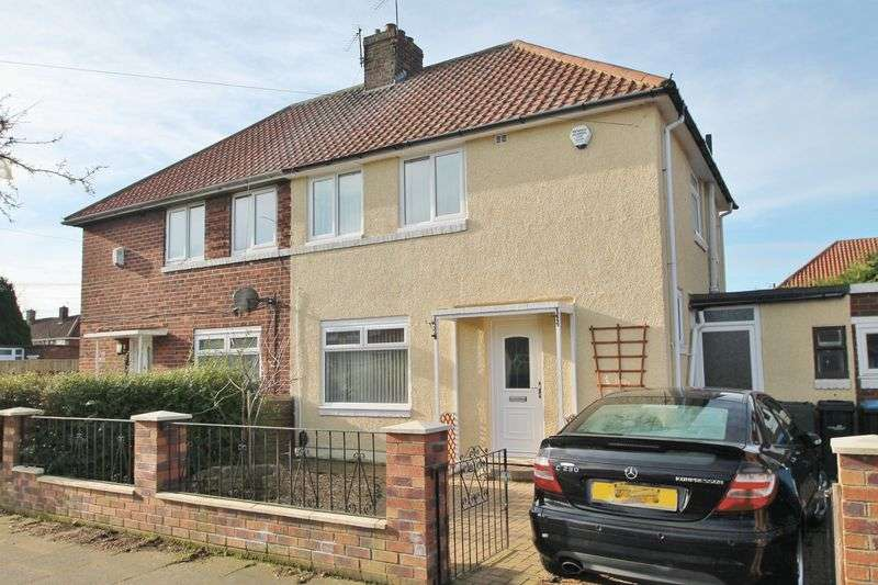 2 Bedrooms Semi Detached House for sale in Overdale Road, Berwick Hills