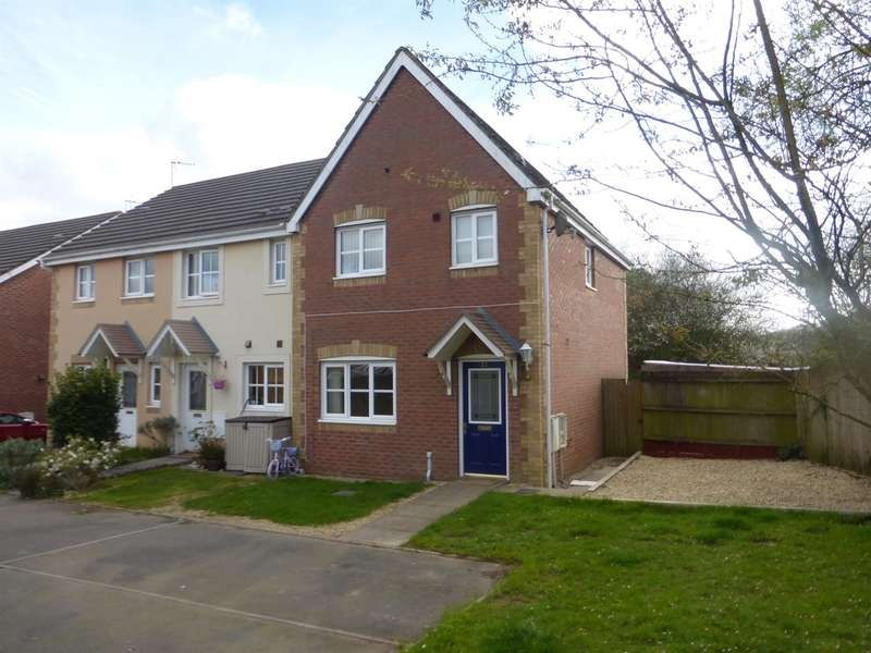 3 Bedrooms Semi Detached House for sale in St Peters Avenue, Llanharan, Pontyclun