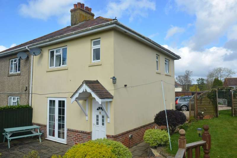 3 Bedrooms Semi Detached House for sale in WOODLANDS, WIMBORNE