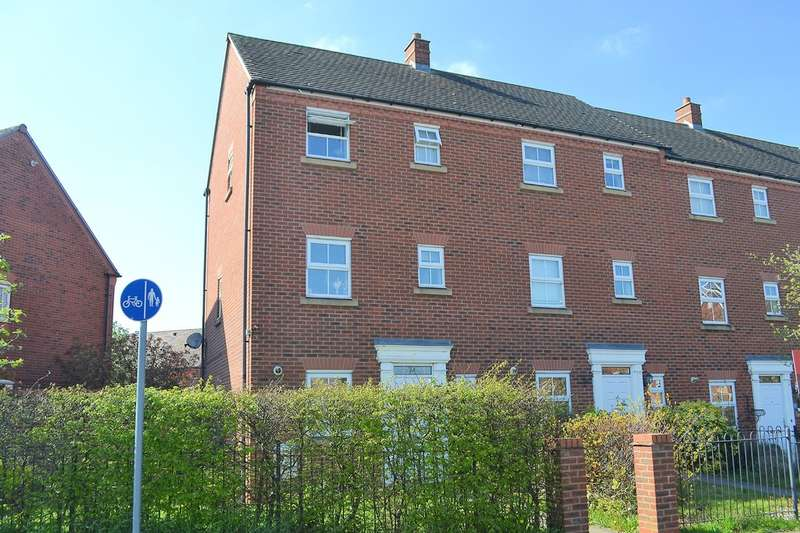 3 Bedrooms End Of Terrace House for sale in Sainte Foy Avenue, Lichfield