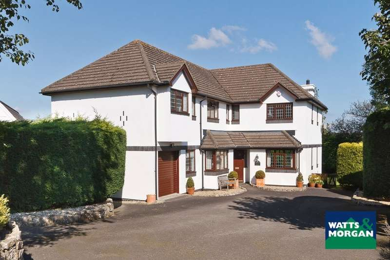 5 Bedrooms Detached House for sale in Llysworney, Vale Of Glamorgan, CF71 7NQ