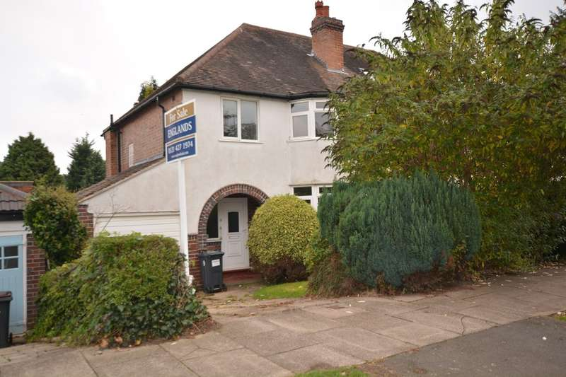 3 Bedrooms Semi Detached House for sale in Pereira Road, Harborne