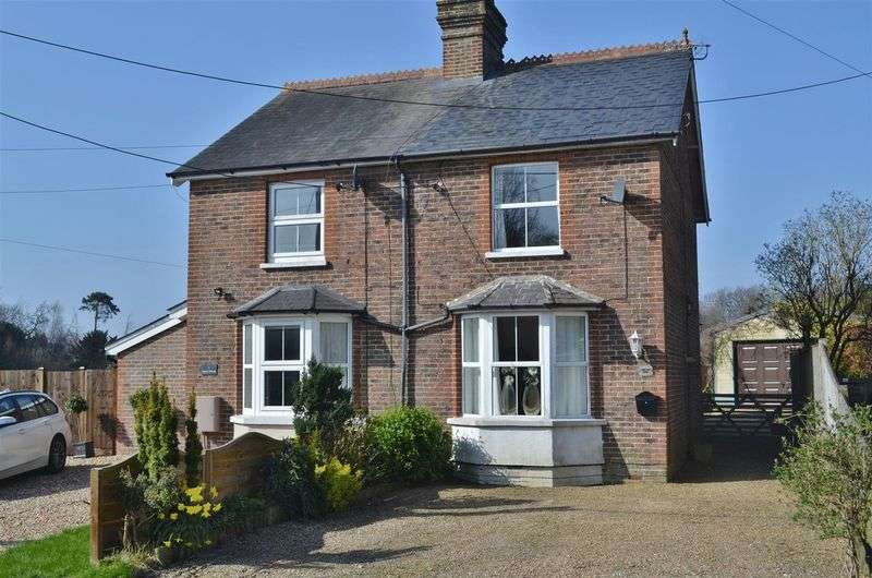 3 Bedrooms Semi Detached House for sale in Beaconsfield Road, Chelwood Gate