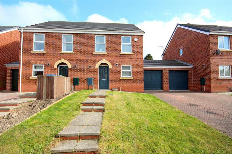 3 Bedrooms Semi Detached House for sale in Horton Crescent, Bowburn, Durham