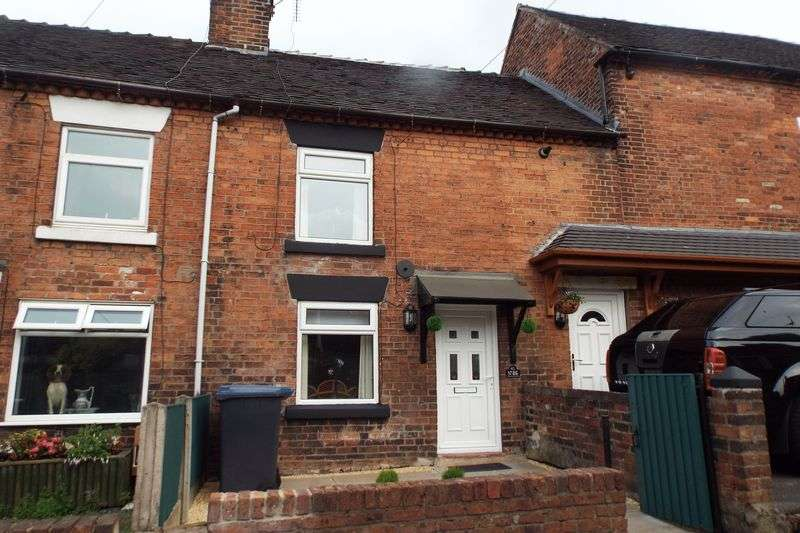 1 Bedroom Terraced House for sale in Queen Street, Cheadle, Stoke-On-Trent