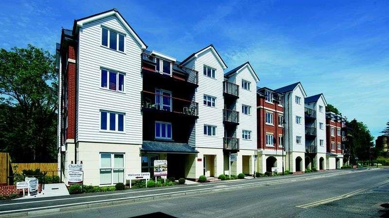 1 Bedroom Retirement Property for sale in Tonbridge, Waterside Lodge