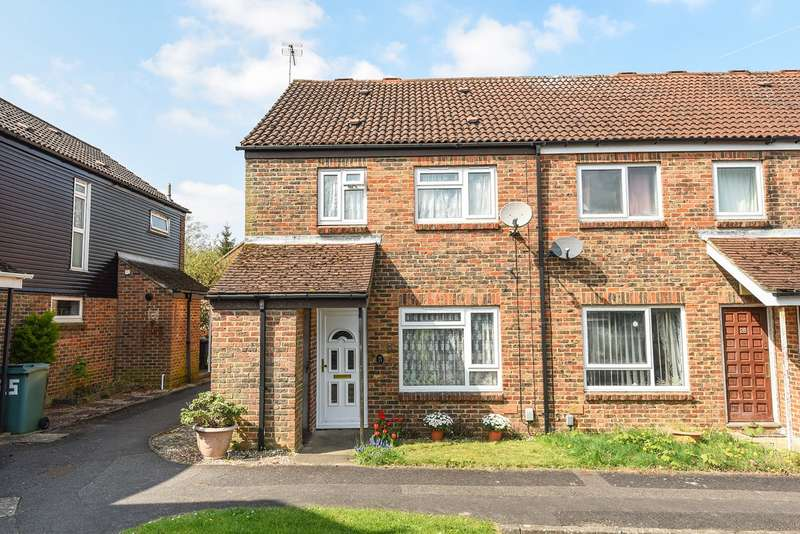 3 Bedrooms End Of Terrace House for sale in Copland Close, Brighton Hill, Basingstoke, RG22