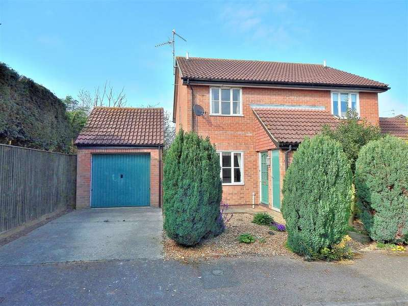 2 Bedrooms Semi Detached House for sale in Wesley Road, North Wootton, King's Lynn