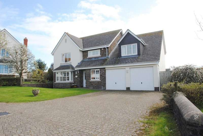5 Bedrooms Detached House for sale in Glebe Field, Georgeham