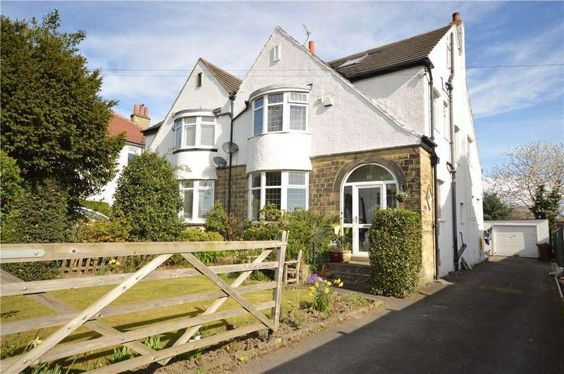 4 Bedrooms Semi Detached House for sale in Brownberrie Lane, Horsforth, Leeds, West Yorkshire