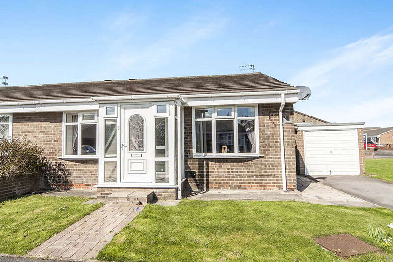 3 Bedrooms Semi Detached Bungalow for sale in Kenton Grove, Fulwell, Sunderland, SR6