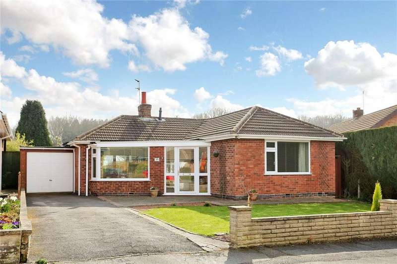 2 Bedrooms Detached Bungalow for sale in Fern Crescent, Groby, Leicester