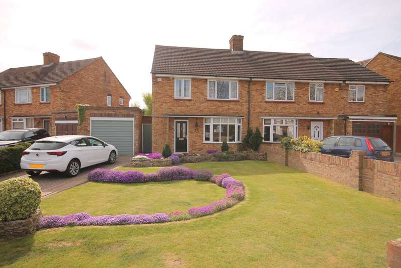 3 Bedrooms Semi Detached House for sale in Arrow Leys, Putnoe, Bedford, MK41