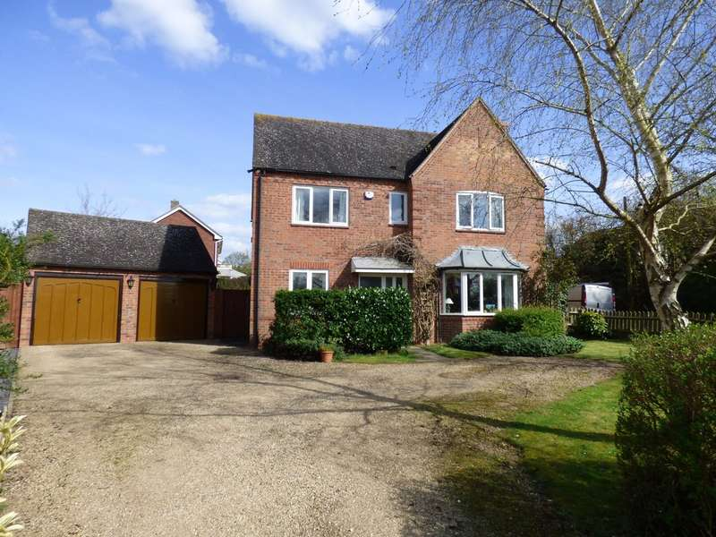 4 Bedrooms Detached House for sale in Hillside, Harbury