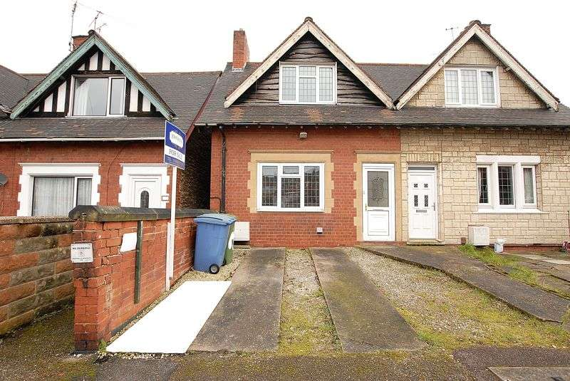 2 Bedrooms Semi Detached House for sale in Semi detached property. Derby Street, Mansfield