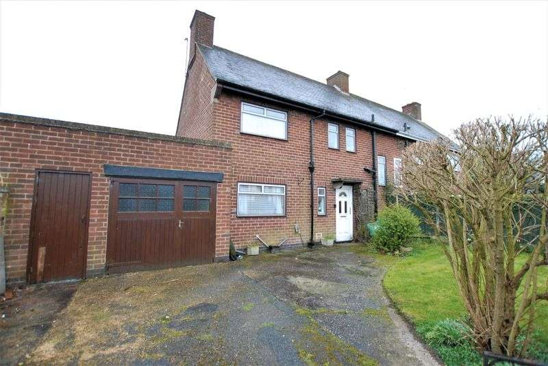 3 Bedrooms Semi Detached House for sale in Alms Road, Doveridge