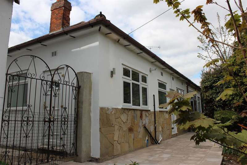 2 Bedrooms Semi Detached Bungalow for sale in Upper Park Road, Belvedere, Kent, DA17 6EN