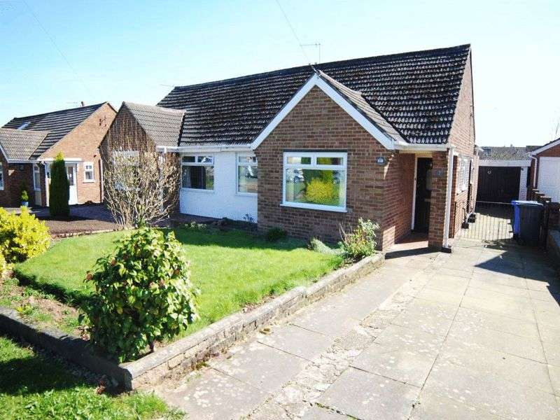 3 Bedrooms Semi Detached Bungalow for sale in Trentley Road, Trentham, Stoke-On-Trent, ST4 8PP