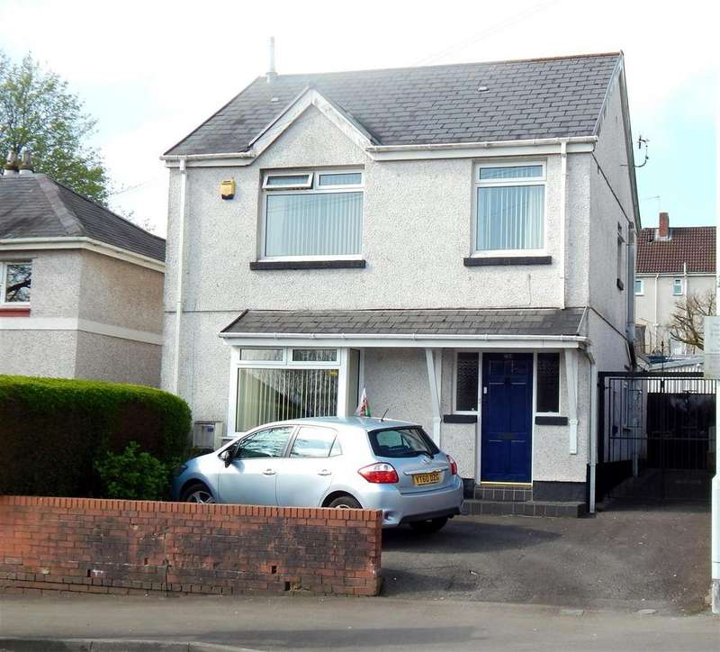 3 Bedrooms Detached House for sale in Chemical Road, Morriston, Swansea