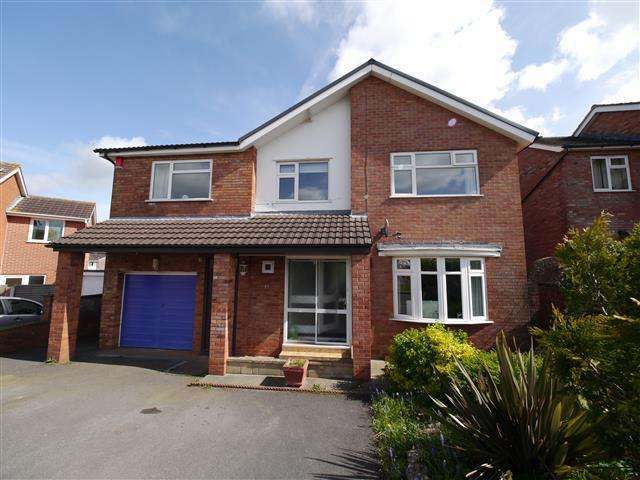 4 Bedrooms Detached House for sale in Beech Hill, Wellington TA21