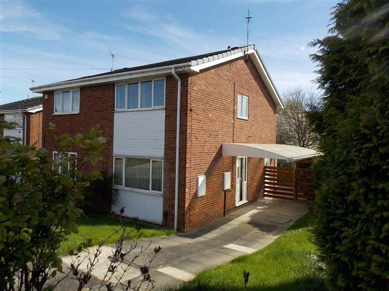 3 Bedrooms Semi Detached House for sale in Birch Tree Close, Wakefield, WF1