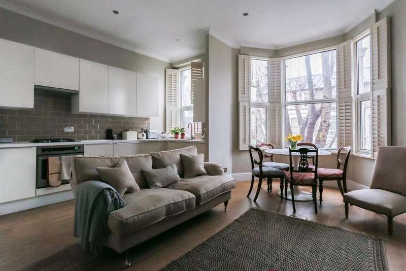 2 Bedrooms Flat for sale in Weltje Road, Hammersmith, W6
