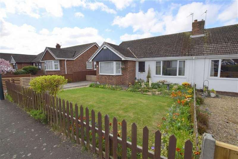 3 Bedrooms Semi Detached Bungalow for sale in Chestnut Road, Waltham, North East Lincolnshire