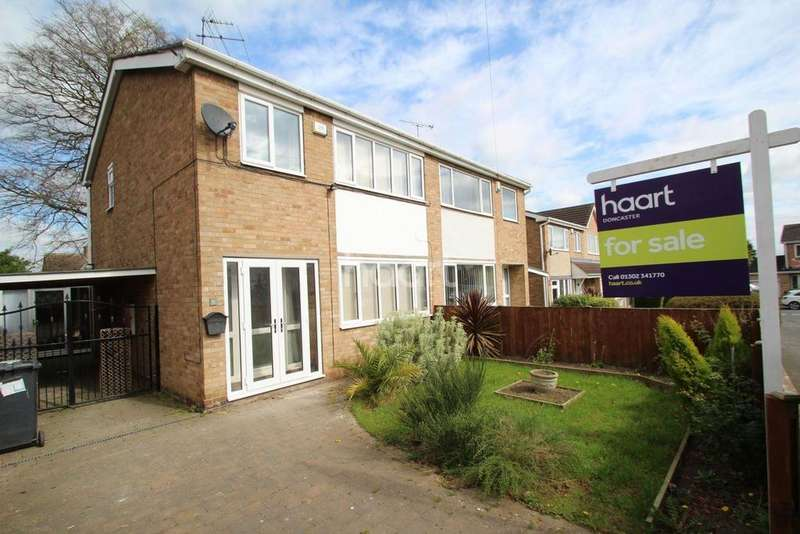 3 Bedrooms Semi Detached House for sale in Ascot Drive, Scawsby