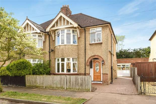 3 Bedrooms Semi Detached House for sale in Talbot Road, Bedford