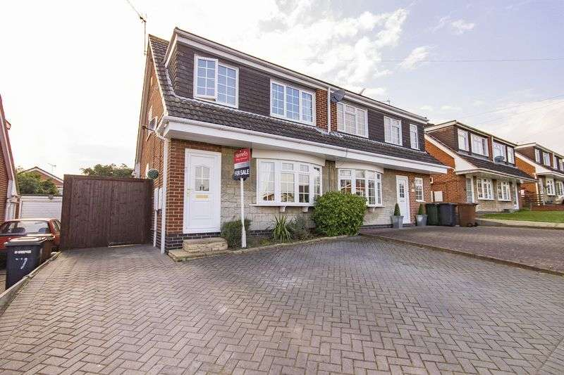 3 Bedrooms Semi Detached House for sale in PORTERS LANE, FINDERN
