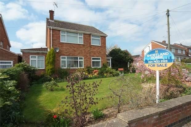 3 Bedrooms Detached House for sale in Moyle Crescent, Eastern Green, Coventry