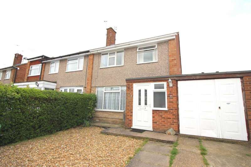 3 Bedrooms Semi Detached House for sale in Brightwell Drive, Leicester Forest East