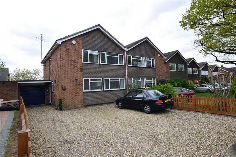 4 Bedrooms Semi Detached House for sale in Tippings Lane, Woodley, Reading