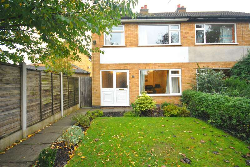 3 Bedrooms Semi Detached House for sale in Coltbeck Avenue, Narborough, Leicester, LE19 3EJ
