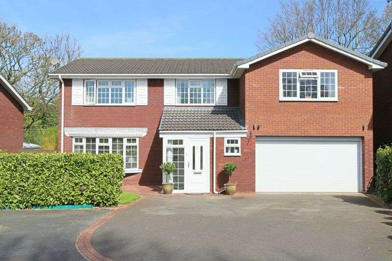 4 Bedrooms Detached House for sale in Cheriton Way, Wistaston