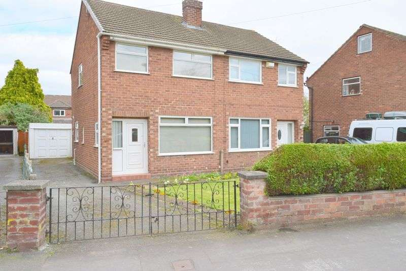 2 Bedrooms Semi Detached House for sale in Clifton Drive, Chester