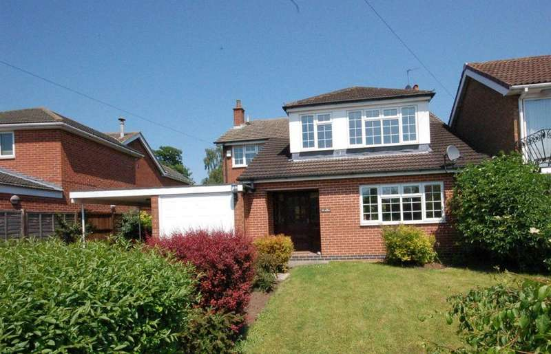 4 Bedrooms Detached House for rent in The Birches, Bradmore