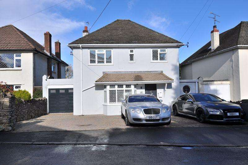 4 Bedrooms Detached House for sale in 14 Highwalls Road, Dinas Powys, The Vale Of Glamorgan. CF64 4AJ