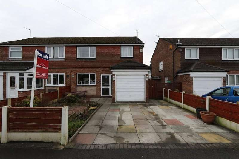 3 Bedrooms Semi Detached House for sale in 3 Rowson Drive, Cadishead