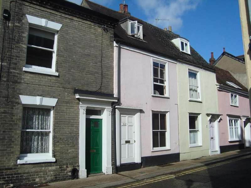 3 Bedrooms Terraced House for sale in Guildhall Street, Bury St Edmunds