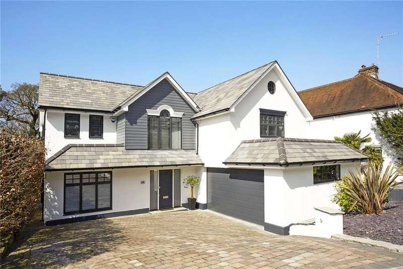 4 Bedrooms Detached House for sale in Winchester Close, Esher, Surrey, KT10