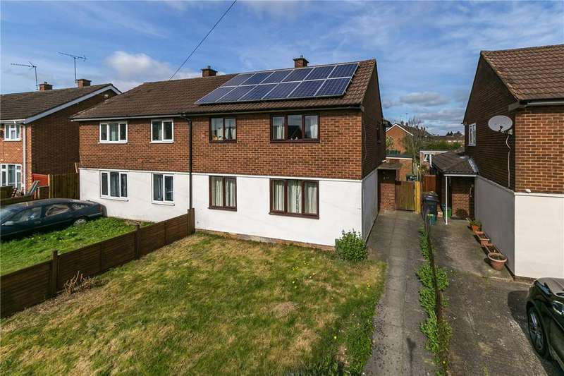4 Bedrooms Semi Detached House for sale in Drakes Drive, St. Albans, Hertfordshire