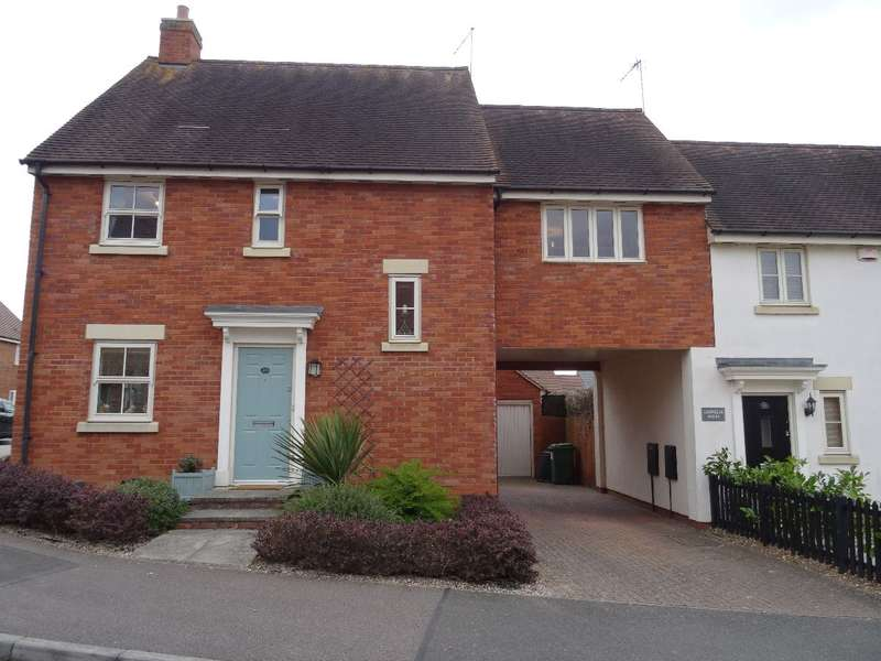 4 Bedrooms Detached House for sale in CHANTRY RISE, OLNEY