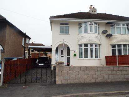 3 Bedrooms Semi Detached House for sale in Walton Crescent, Llandudno Junction, Conwy, LL31