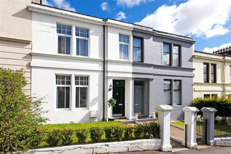 4 Bedrooms Terraced House for sale in 15 Bolivar Terrace, Mount Florida, G42 9AT